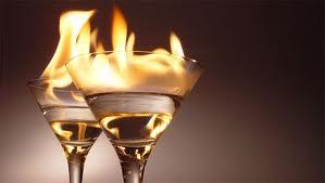 alcohol fuego