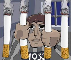 El tabaco te puede llevar a la carcel