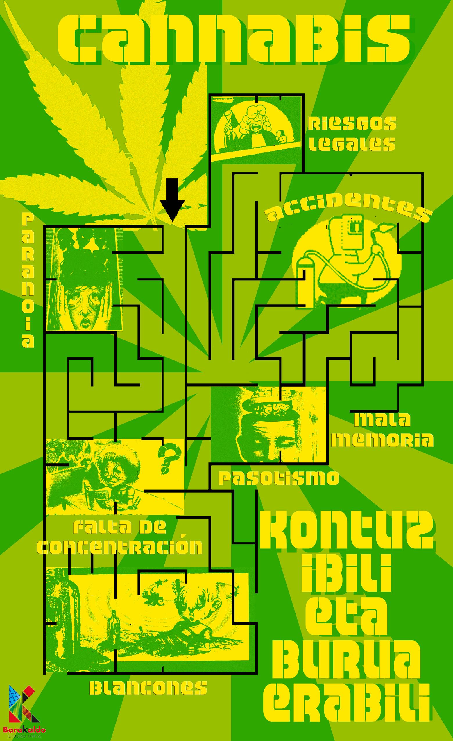 LABERINTOcannabis baja cali LOGO